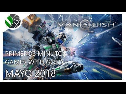 Primeros Minutos / Games with Gold Mayo 2018 / Vanquish