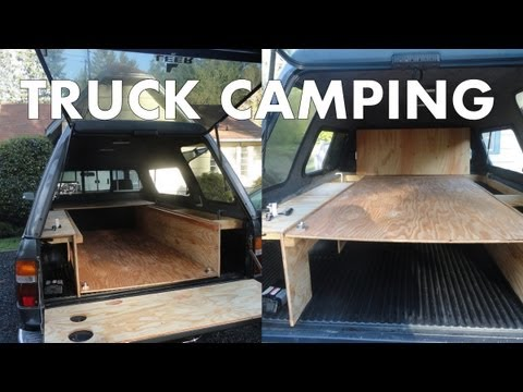 Pickup Truck Camping Outfitting A Truck Canopy For
