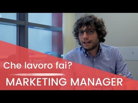 Che lavoro fai? Marketing Manager