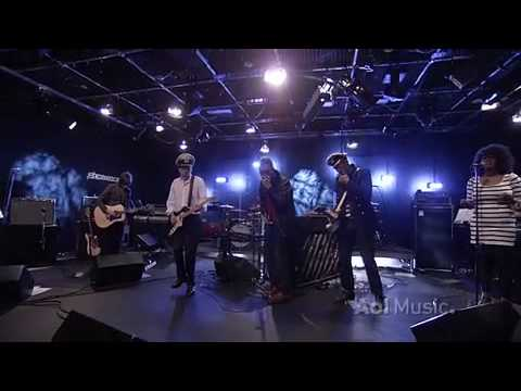 Gorillaz - Rhinestone Eyes (Live on AOL Sessions)