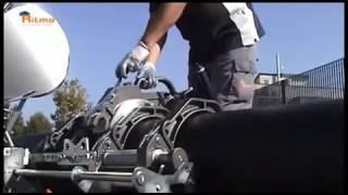RITMO DELTA DRAGON CNC стыковой сварочный аппарат с автоматической системой управления.