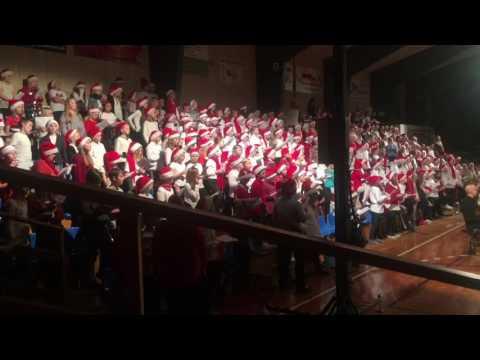 250 nordfynske børn synger Pyrus med Odense Symfoniorkester