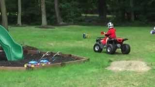 FAST - Modified 24V Power Wheel 4-wheeler