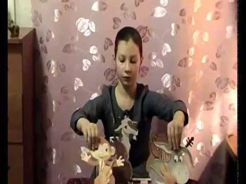 Изображение предпросмотра прочтения – АленаЩербина читает произведение «Квартет» И.А.Крылова
