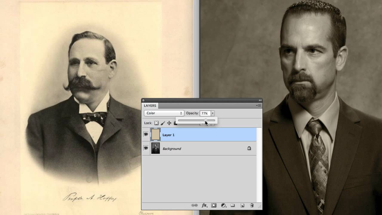 How To Make Pictures Look Old Fashioned In Photoshop