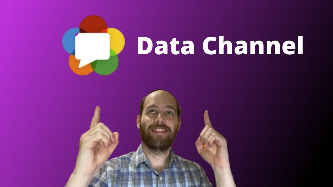 Text Chat Using WebRTC Data Channel