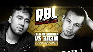 RBL: ISLA DE MUERTA VS ЭЛЭМ (DROP THE MIC, RUSSIAN BATTLE LEAGUE)