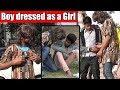 FUNNY REACTIONS - Boy Dressed as a Girl Prank | Main Bhi Hoon Unglibaaz Ep.2