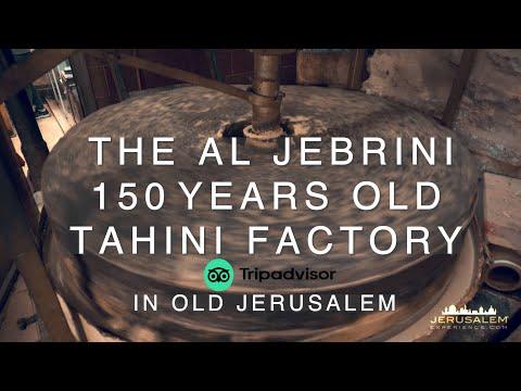 Al Jebrini Tahini Factory in Old Jerusalem