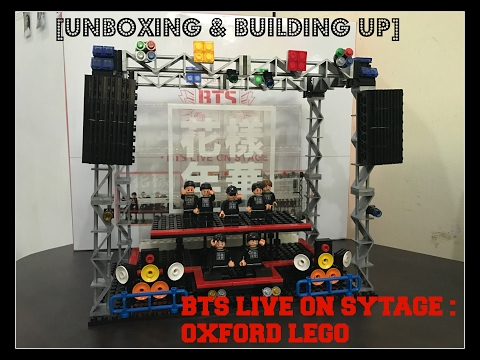 UNBOXING BTS LIVE ON STAGE (LEGO OXFORD) + BUILDING IT UP