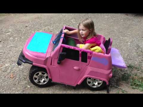 Thumbnail: Piper On The Bagged Power Wheels
