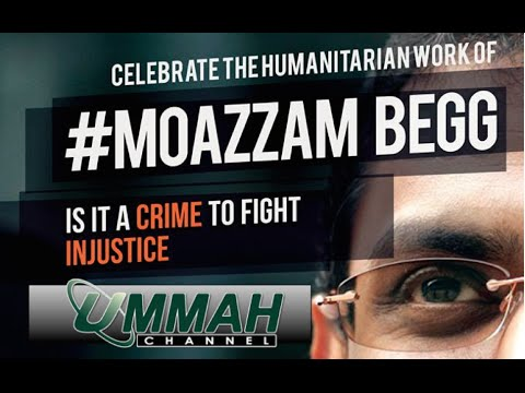 "Ummah Channel Show- ""Celebrating the Humanitarian work of Moazzam Begg"""