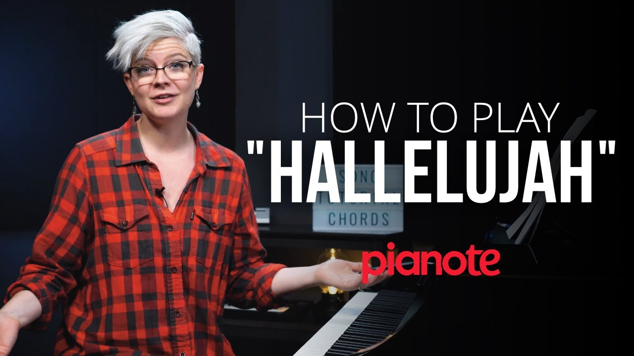"""How To Play """"Hallelujah"""" On The Piano - YouTube"""