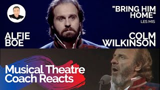 Musical Theatre Coach Reacts (BRING HIM HOME, Colm Wilkinson & Alfie Boe) Les Mis