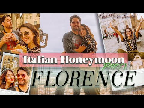 HONEYMOON IN ITALY PT 1: FLORENCE VLOG| MUSEUMS, DUOMO, GOOD FOOD + BOBOLI GARDEN
