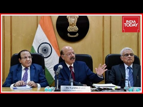 Exclusive : CEC, Nasim Zaidi Press Conference On 2017 Assembly Elections In 5 States