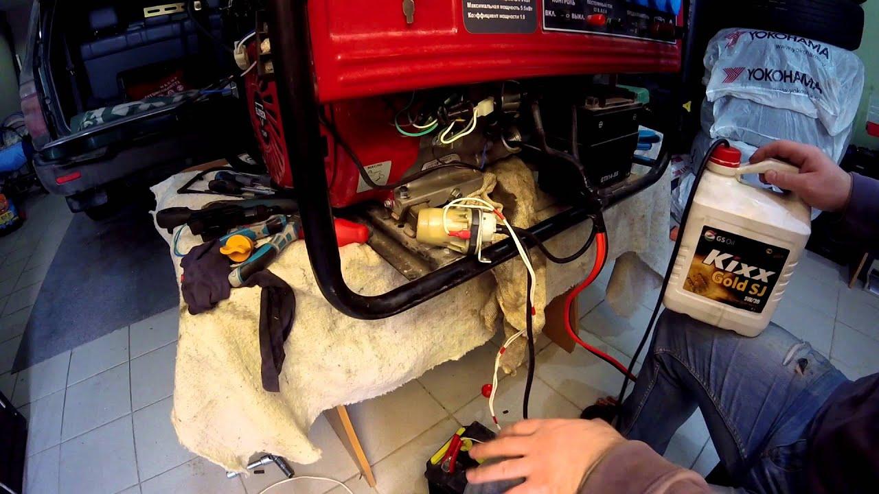 Ремонт двухтактного бензинового генератора симисторы для стабилизаторов напряжения