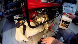 видео бензиновые электростанции ремонт