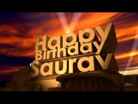 Happy Birthday Saurav