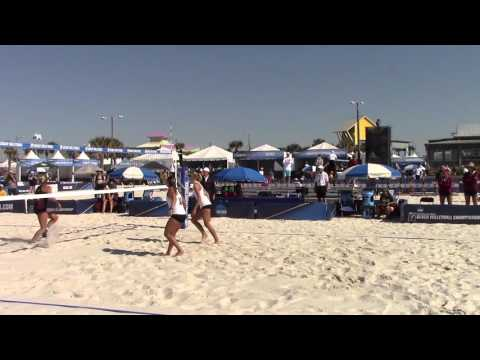 NCAA Beach Volleyball Championship - Stetson Highlights
