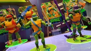 Rise Of The TMNT Figures First Look At Toy Fair 2018
