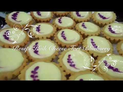 resepi-kuih-tart-cheese-blueberry-mudah-dan-sedap