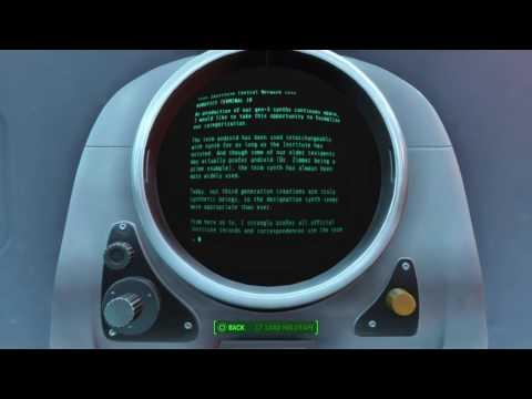Fallout 4 - Plugging A Leak