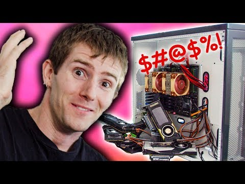 When everything goes wrong - $40,000 PC Pt. 2