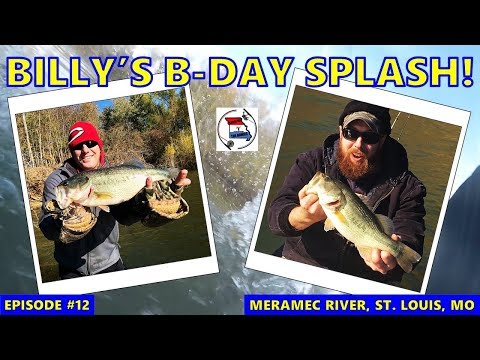 Bass Fishing The Lower Meramec River, St. Louis, MO | How And Where To Catch Bass In The Fall