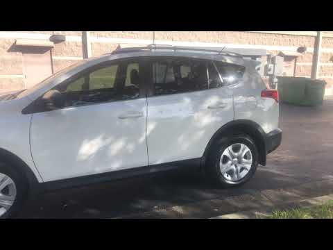 2015 WHITE TOYOTA RAV4 LE (JTMZFREV2FD) with an 2.5L engine, Automatic transmission, located at 6921 40th St N, Pinellas Park, FL, 33781, (727) 366-8136, 27.834944, -82.687653 - Photo #0