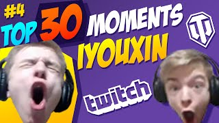 #4 iyouxin TOP 30 Funny Moments   World of Tanks