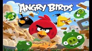 Энгри Бердс  Злые птички   Мультик Игра для детей о борьбе птичек со свинками  Angry birds