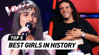 The BEST FEMALE Blind Auditions in The Voice Kids history PART 2