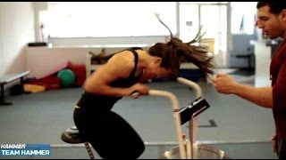 100 seconds of Cardio a Day- REAL HIIT on the Air Dyne Bike