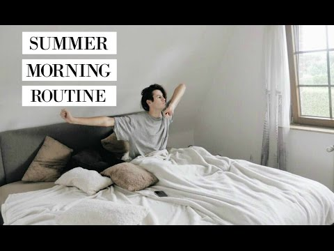 SUMMER MORNING ROUTINE || HEALTHY FOOD || 2016