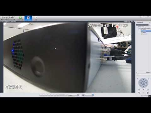 CAMX CCTV: Viewing Live Cameras Using SmartPSS