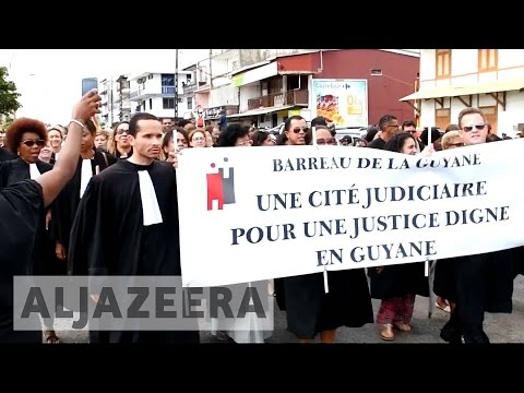 French Guiana protesters strike over unemployment and lack of services