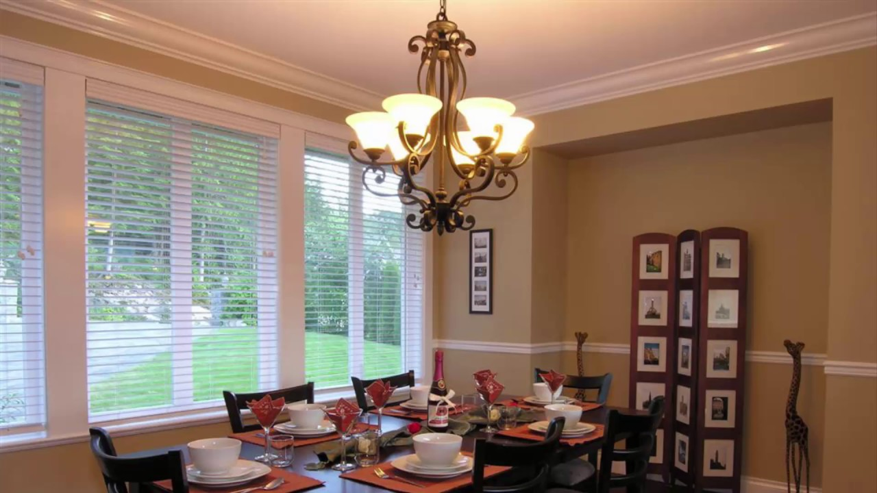 Low Ceiling Dining Room Lighting Ideas