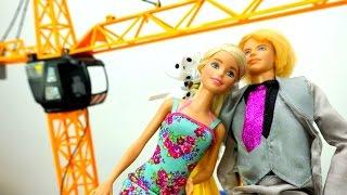 Свидание Барби и Кена. Видео для девочек