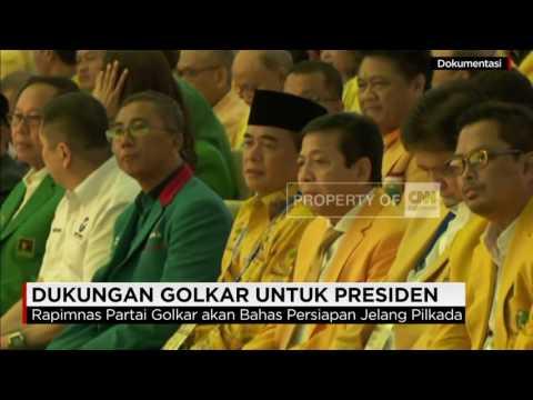 Golkar Putuskan Dukung Jokowi Di Pilpres 2019