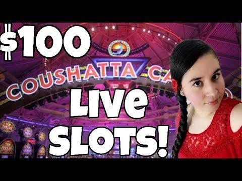 $100 Slot Play At Coushatta Casino - Kinder, Louisiana