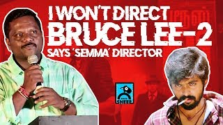 I won't do Bruce Lee 2 - Says