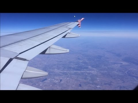Virgin America HD 60fps: Airbus A320 N634VA on Flight VX407 (JFK to LAX) 3/5/16