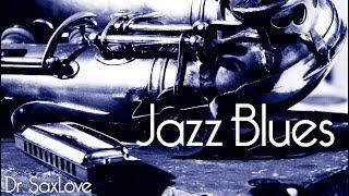 Best Blues Harmonica | Blues Guitar | Saxophone Blues | 12 Bar Blues  | Slow Blues | Download