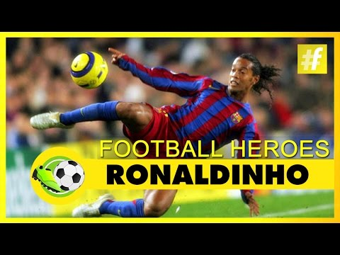 Ronaldinho | Football Heroes | Full Documentary