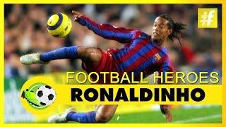 Ronaldinho | Football Heroes | Full Documentary