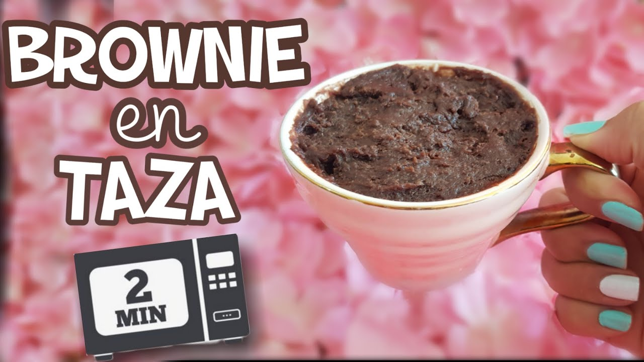 Brownie En Taza En 2 Minutos Mug Cake Youtube