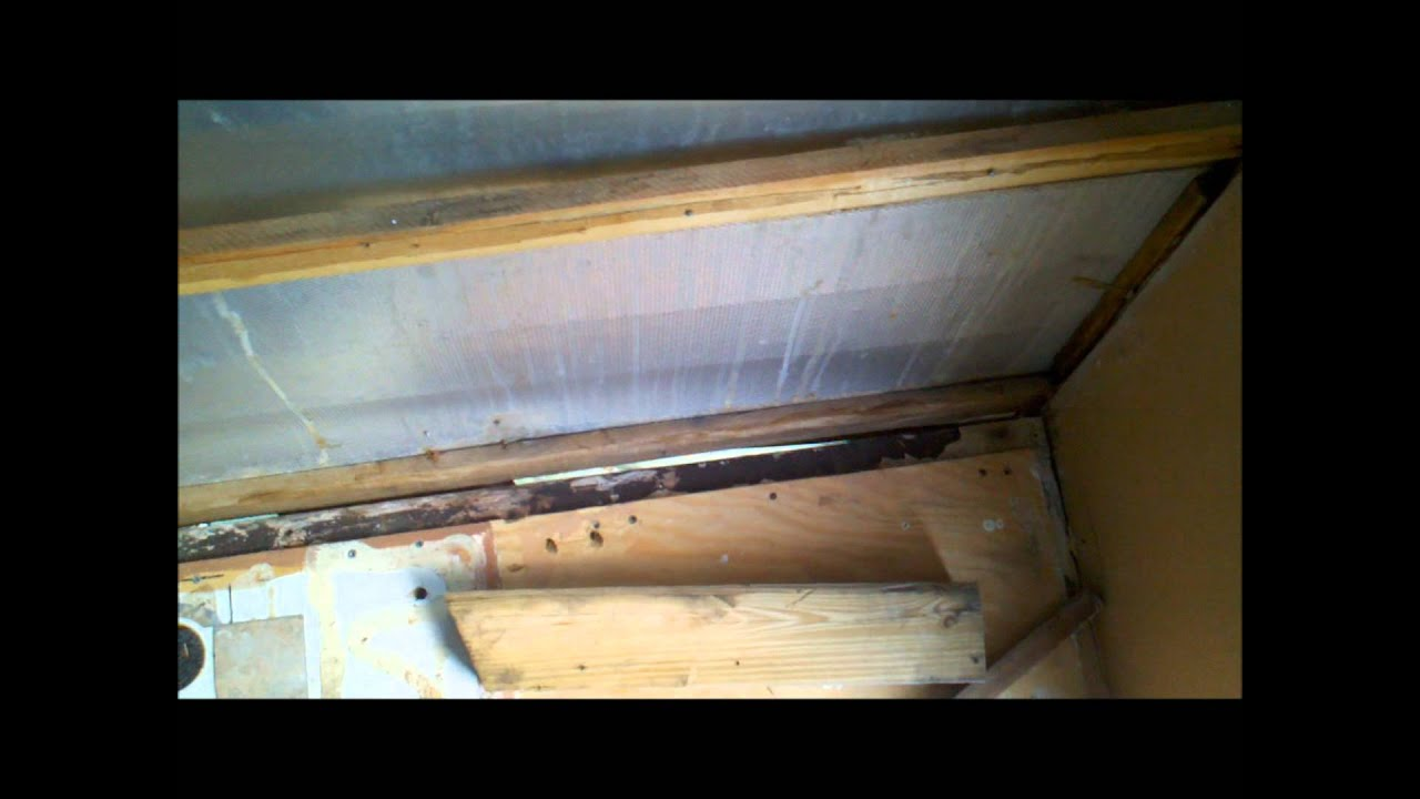 1965 Shasta Compact Trailer Front Wall Rot Repair