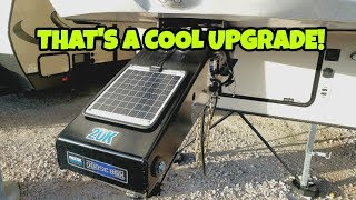 Solar Fifth Wheel Pinbox?  Very useful RV Accessory!