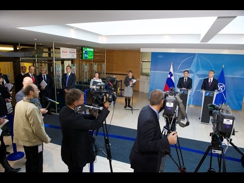 NATO Secretary General and Prime Minister of Slovenia - Joint Press Point, 11 NOV 2014